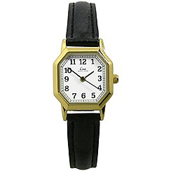 Limit - Ladies gold plated strap watch