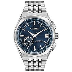 Citizen - Men's ss satellite wave bracelet watch CC3020-57L