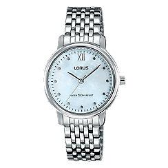 Lorus - Women's MOP dial dress bracelet watch