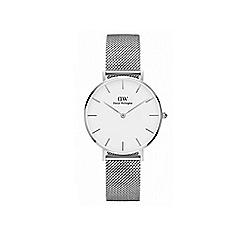 Daniel Wellington - Silver 'Classic Sterling Petite' Mesh Strap 32mm Watch