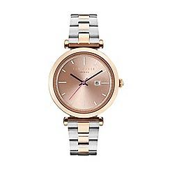 Ted Baker - Ladies two tone bracelet watch