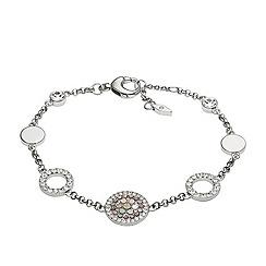 Fossil - Ladies silver glitz bracelet