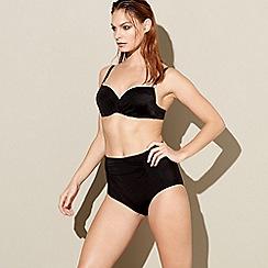 Beach Collection - Black bikini top