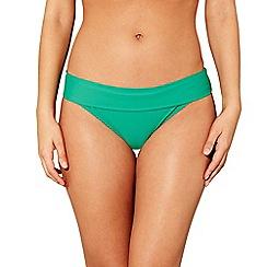 Beach Collection - Green bikini bottoms