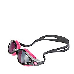 Speedo - Ladies Black and Pink Futura Biofuse Flexiseal Goggle