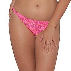 Curvy Kate - Pink 'Daze' mini brief