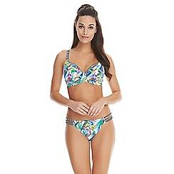 Freya - Tropicool Plunge Bikini Top