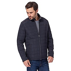 RJR.John Rocha - Navy quilted fleece lined jacket