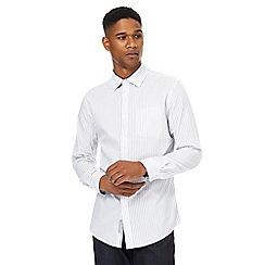 RJR.John Rocha - White marl stripe shirt