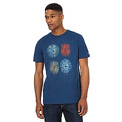 RJR.John Rocha - Big and tall blue circle print t-shirt