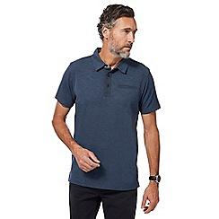 RJR.John Rocha - Big and tall navy marl polo shirt