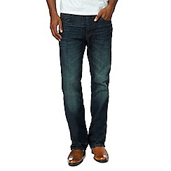 RJR.John Rocha - Big and tall blue vintage wash bootcut jeans