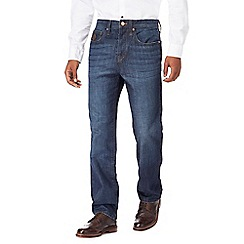 RJR.John Rocha - Blue mid wash straight fit jeans