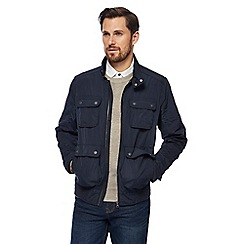 RJR.John Rocha - Big and tall navy harrington jacket