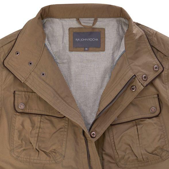 jacket Rocha John neck Taupe RJR funnel w1RxTUqYp