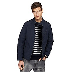 RJR.John Rocha - Big and tall navy biker jacket