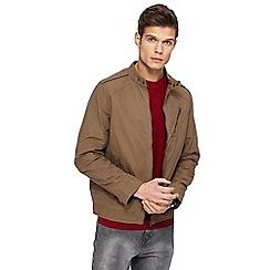 RJR.John Rocha - Taupe biker jacket