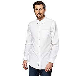 RJR.John Rocha - Big and tall white textured tailored fit shirt