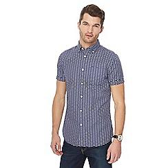 RJR.John Rocha - Navy dragonfly print tailored fit shirt