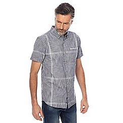 RJR.John Rocha - Big and tall grey checked tailored fit shirt