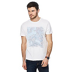 RJR.John Rocha - White abstract dot print t-shirt