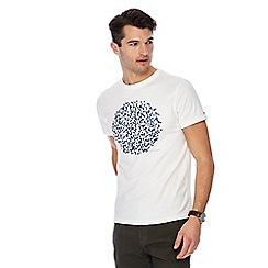 RJR.John Rocha - Big and tall white spotted circle print t-shirt