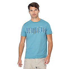 RJR.John Rocha - Big and tall turquoise layered bars t-shirt