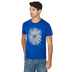 RJR.John Rocha - Big and tall bright blue embroidered circle t-shirt