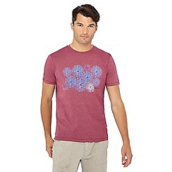 RJR.John Rocha - Big and tall pink firework print tailored fit t-shirt