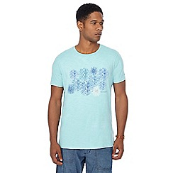 RJR.John Rocha - Big and tall aqua firework print tailored fit t-shirt