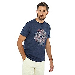 RJR.John Rocha - Big and tall navy embroidered tailored fit t-shirt