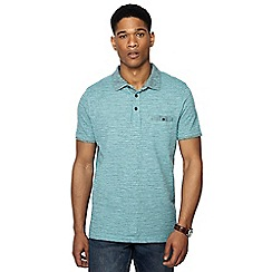 RJR.John Rocha - Light green fine striped tailored fit polo shirt