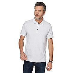 RJR.John Rocha - Big and tall white printed tailored fit polo shirt