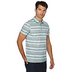 RJR.John Rocha - Big and tall multicoloured stripe print tailored fit polo shirt