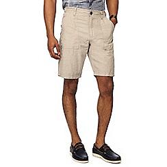 RJR.John Rocha - Natural linen blend shorts