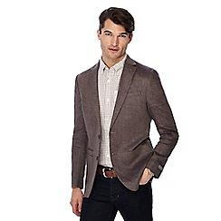 RJR.John Rocha - Brown linen blazer