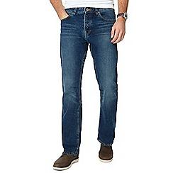 RJR.John Rocha - Blue mid wash bootcut jeans
