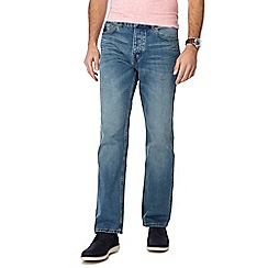RJR.John Rocha - Blue light wash regular fit jeans