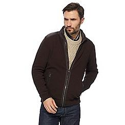 RJR.John Rocha - Brown zip though jacket