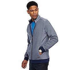RJR.John Rocha - Big and tall navy herringbone sweater