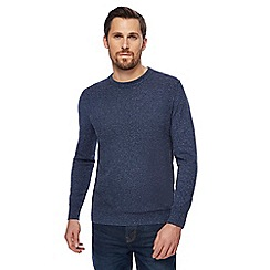 RJR.John Rocha - Navy textured jumper
