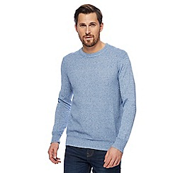 RJR.John Rocha - Light blue textured jumper