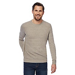 RJR.John Rocha - Natural textured jumper