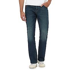 RJR.John Rocha - Blue vintage wash straight fit jeans