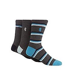 Pringle - 3 pack grey socks