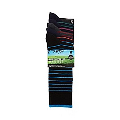 Freshen Up Your Feet - Pack of five assorted striped socks