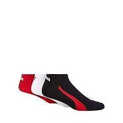 Puma - 3 pack assorted trainer socks