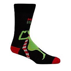 Star Wars - Black 'Grinch' socks