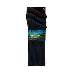 Freshen Up Your Feet - 3 pack assorted odour free boot socks