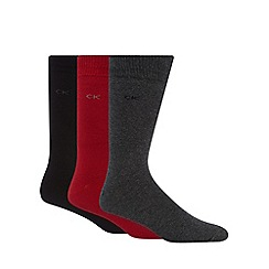 Calvin Klein - Pack of three assorted logo socks